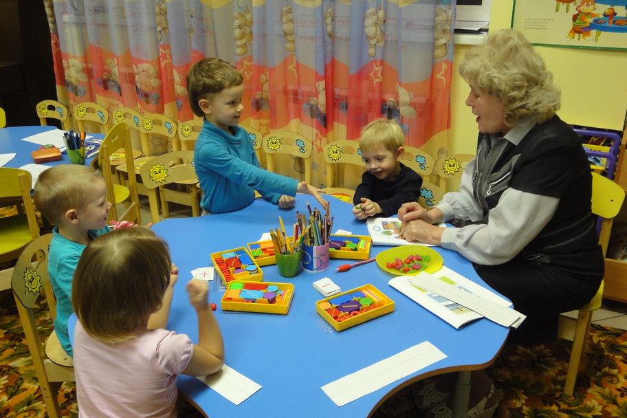 Учимся, играя - для детей от 5 до 6 лет